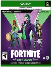 Fortnite: Last Laugh Bundle (Code In Box)(XB1/XBO)